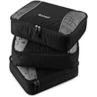 3-Pack Gonex Medium Packing Cube (Black)