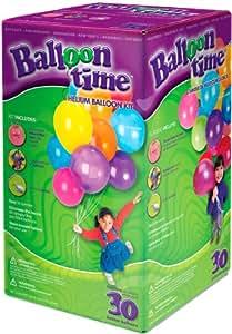 einweg helium gasflasche 13 38 liter bei 18 bar inkl 30 luftballons spielzeug. Black Bedroom Furniture Sets. Home Design Ideas