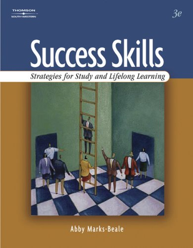 Success Skills: Strategies For Study And Lifelong Learning front-1066742