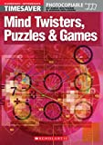 Timesaver 'Mind Twisters, Puzzles & Games': A1-B1 (Helbling Languages / Scholastic)