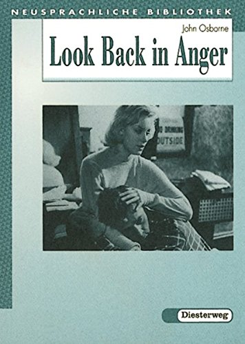 look back in anger essays The first production of john osborne's look back in anger in 1956 provoked a major controversy there were those, like the observer newspaper's influential critic kenneth tynan, who saw it as the first totally original play of a new generation there were others who hated both it and the world that osborne.