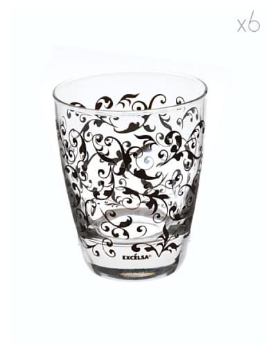 JoyFul Christmas Set 6 Bicchieri Domus Bianco