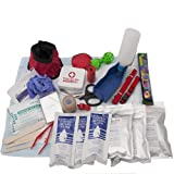 Dog Deluxe , Bug Out Bag, Survival and Disaster Kit, Dog Evacuation and First Aid Kit, Emergency Zone Brand