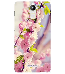 Chiraiyaa Designer Printed Premium Back Cover Case for Coolpad Note 3 Lite (flower pink winter) (Multicolor)