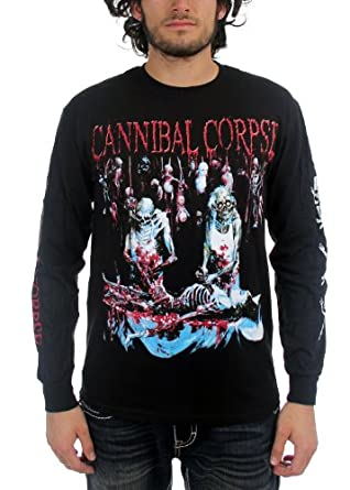 Cannibal Corpse - Butchered At Birth Long Sleeve Adult T-Shirt, X-Large, Black
