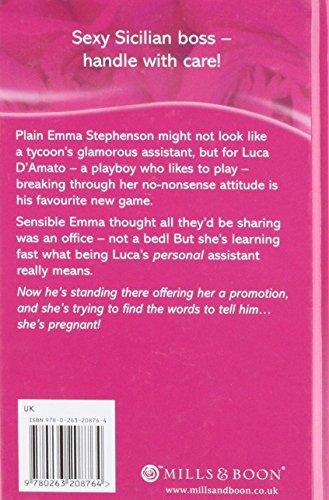 Innocent Secretary - Accidentally Pregnant (Mills & Boon Hardback Romance)