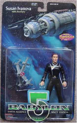 "Babylon 5 Action Figure Susan Ivanova 6"" - 1"
