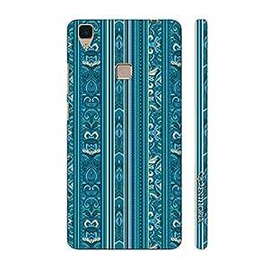 Enthopia Designer Hardshell Case India Blues Back Cover for Vivo V3