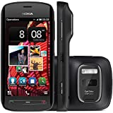 Nokia 808 PureView Unlocked GSM Phone with 41MP Camera with Carl Zeiss Optics and Symbian (Belle) OS - Black