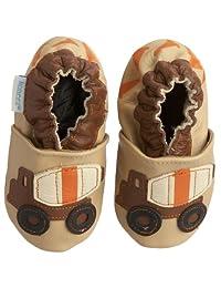 Robeez Soft Soles Cement Mixer Shoe (Infant/Toddler/Little Kid)