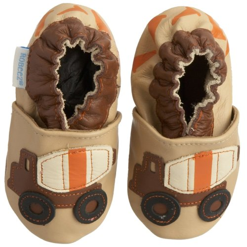 Robeez Infant/Toddler Cement Mixer Soft Sole Shoe