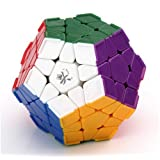 Dayan Megaminx Stickerless With Ridges 12 Color Speed Cube