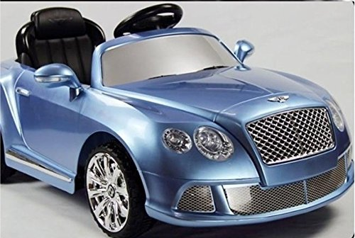Limited Edition Ride On Toy Car 12V Battery Licensed Bentley Gt With Bluetooth Remote Control Mp3 Connection