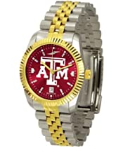 "Texas A&M Aggies NCAA AnoChrome ""Executive"" Mens Watch"