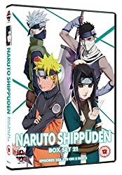 Naruto Shippuden Box Set 21 (Episodes 258-270) [DVD]