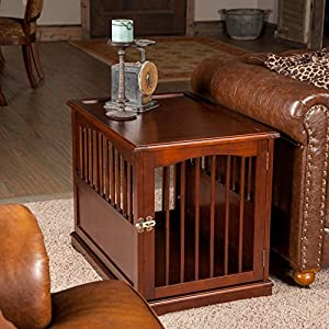 Wooden Crate Primetime Petz End Table Crate Dog Crate Furniture Medium 24 H X 21