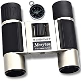 Binoculars with 10x25 Portable High Definition and Compass by Merytes