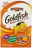 Pepperidge Farm Goldfish, Cheddar, 3 resealable bags, 58 ounces
