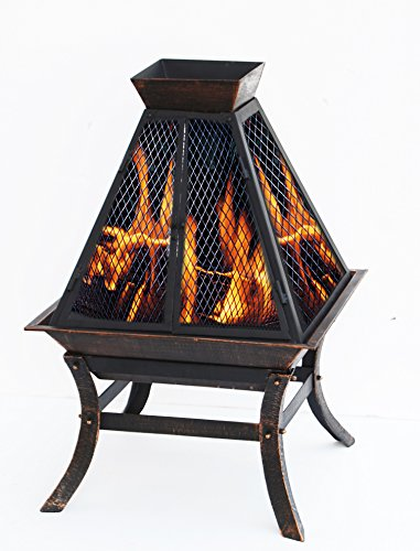 Deeco Consumer Products Aspen Glo Fire Pit