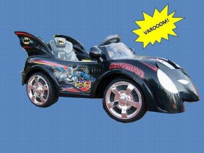 Official Batman Power Ride On Wheels Licensed Tm Batmobile Kids Electric Bat Car