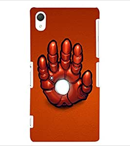ColourCraft Printed Design Back Case Cover for SONY XPERIA Z2