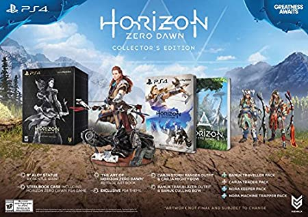 Horizon Zero Dawn Collectors Edition - PlayStation 4