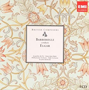 Barbirolli conducts Elgar: Orchestral Works (British Composers) by EMI Classics