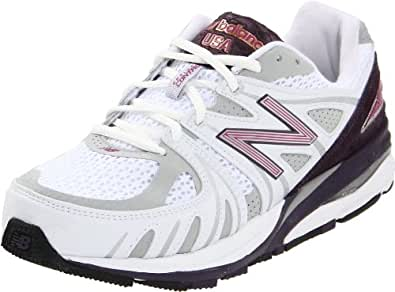 New Balance Women's W1540 Running Shoe,White/Purple,10.5 D US