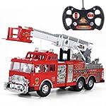 "20"" Jumbo R/C Rescue Fire Engine Truc..."