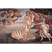 204スモールピース プチ サンドロ・ボッティチェリ ヴィーナスの誕生 (10x14.7cm)