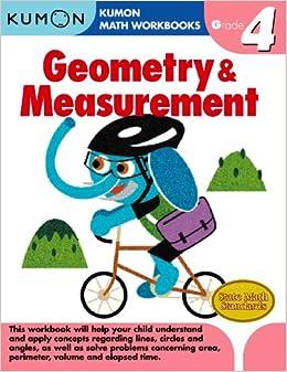 geometry measurement grade 4 kumon math workbooks kumon pub north america ltd. Black Bedroom Furniture Sets. Home Design Ideas