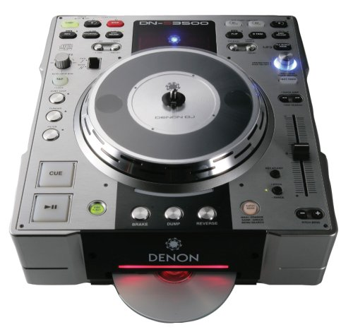 Denon DNS3500 DJ Tabletop CD and MP3 Player (Tabletop Stereo Cd compare prices)