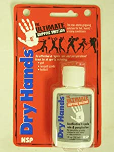 Buy Dry Hands Ultimate Grip Enhancing Solution (Golf Tennis Football) NEW by NSP