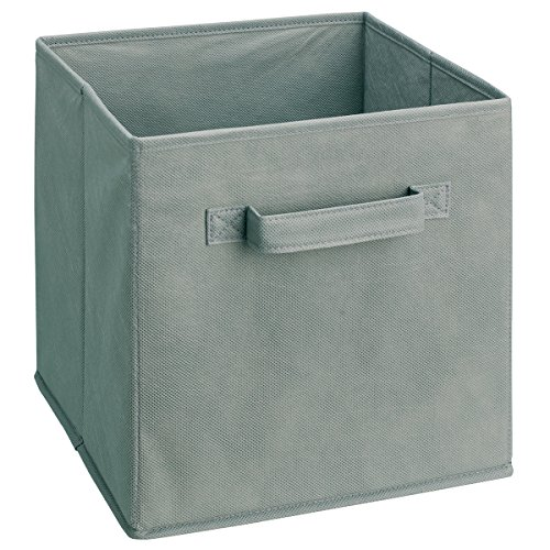 ClosetMaid 58657 Cubeicals Fabric Drawer, Gray (Canvas Storage Bins compare prices)