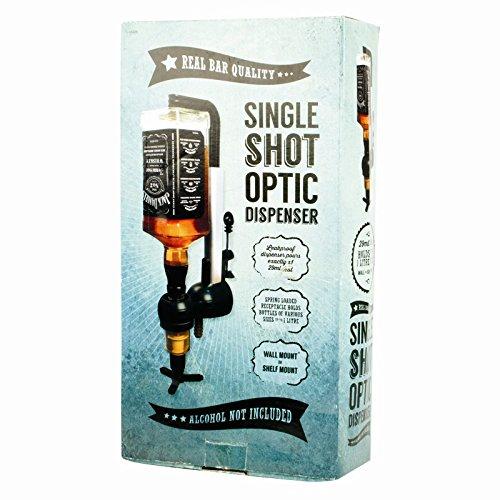 Dispenser per shot a fibre ottiche
