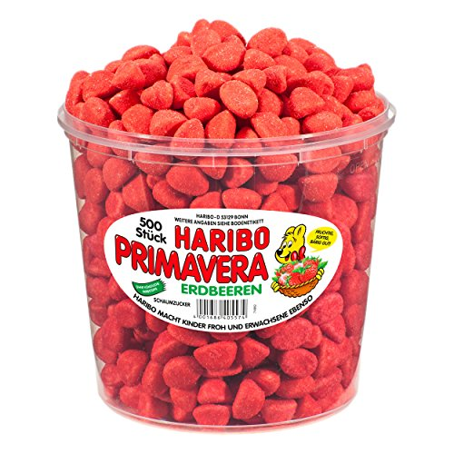haribo-small-primavera-strawberries-1150-gram-tub