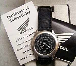 Honda Motor Fossil Watch vintage Limited Edition Collectible