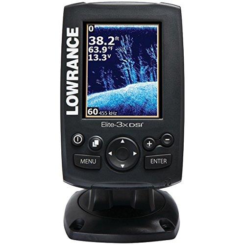 """Lowrance ELITE-3X DSI Color Sonar 3"""" 83/200khz 455/800 Fishfinder"""