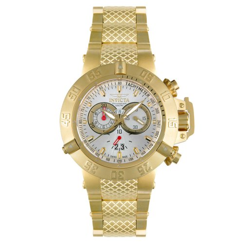 Invicta Men's Subaqua Noma III Collection Gold-Tone Chronograph Watch #5406