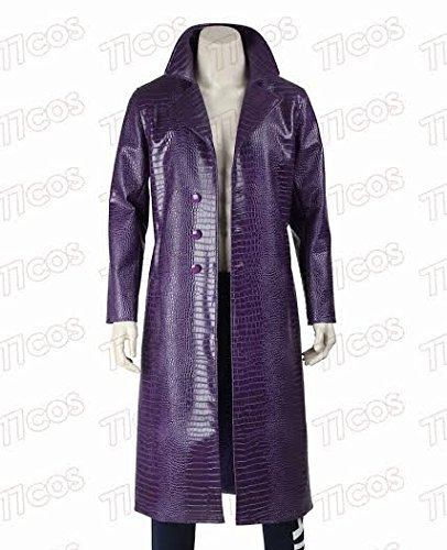 The Joker Suicide Squad Jared Leto Purple Coat - Best Selling