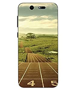 Case Cover Printed Multicolor Soft Back Cover For LYF EARTH 2