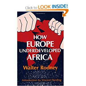 Amazon.com: How Europe Underdeveloped Africa (9780882580968): Walter Rodney, Vincent Harding: Books