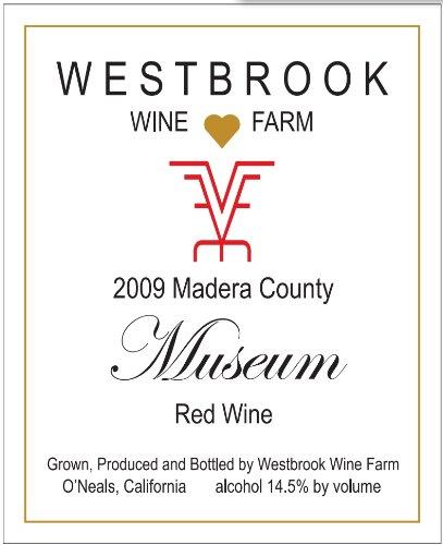 2009 Westbrook Wine Farm Vineyard And Winery Museum Red Bordeaux / Meritage Style Blend 750 Ml