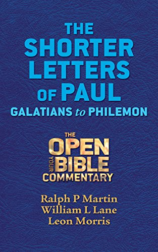 an interpretation of pauls letter to the galatians The letter to the galatians: exegesis and theology is the correct interpretation of the much a commentary on st paul's letter to the galatians.
