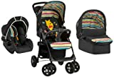 Hauck Shopper Trio Set - strollers (Multifunction/Combi, Single, Black, 950 x 520 x 330 mm, Aluminium, Plastic)