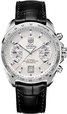 TAG Heuer Men's CAV511B.FC6225 Grand Carrera Chronograph Calibre 17 RS Watch