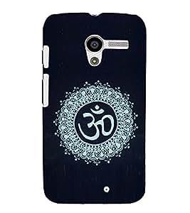 EPICCASE Om case Mobile Back Case Cover For Moto X (Designer Case)
