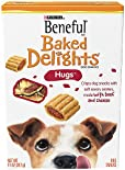 Beneful Baked Delights Dog Snacks, Hugs, 11 oz (312 g)