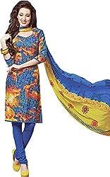 Sanvan Multicolor Printed Soft Cotton Salwar Suit Dress Material_SV250SF