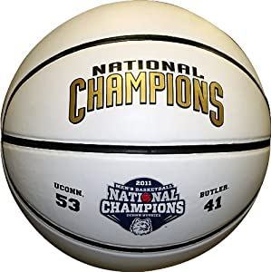 Buy NCAA Connecticut Huskies 2011 National Champions Full Size Basketball by The Licensed Products Co.